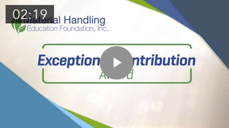 The MHEFI Exceptional Contribution Award Video