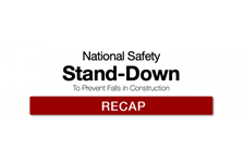 National Safety Stand-Down Recap