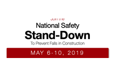 Join the National Safety Stand-Down