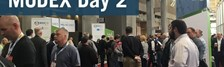 MODEX Day 2: Hippos and Geeks Abound