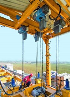 Demag DC-Com Chain Hoists on High Speed Rail Project