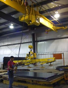 New Crane and Hoist System Delivers the Goods