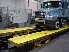 End of the Line Lift for Truck Assembly
