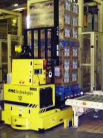Laser Guided AGV System Delivers for a Major Food Manufacturer