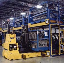 Automotive Assembly Plant Improves Productivity with AGVs