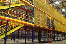 Elevating Rack Guarding for Warehouse Pallet Racks