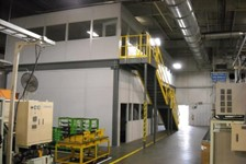 Mezzanine Provides Unique Solution for IT Clean Room