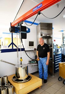 Demag hoists drive results