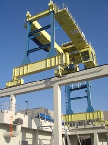 Outdoor Gantry for Marine Environment