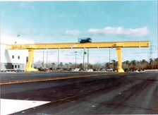 Large Span Single Girder Outdoor Gantry Crane