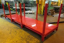 Specialty Material Handling Cart for Pipe Industry