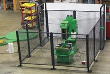 Robotic Guarding for Automated Packaging Equipment