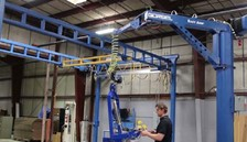 Custom Gorbel Easy Arm® Helps in Packaging Process