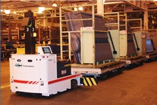 Automated Guided Vehicle System Provides Exceptionally Accurate Positional Accuracy