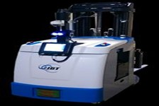 Forked Automated Guided Vehicle Improves Efficiency of Transporting & Stacking Pallets