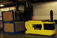 Automatic Guided Vehicles Increase Efficiency of Block Stack Storage