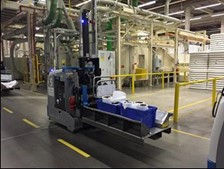 Automated Guided Vehicle System Increase Throughput
