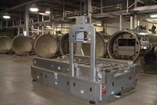 Laser-Guided AGV System Makes Navigating Food Supplier's Warehouse Quick & Easy