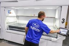 Modula has been chosen by Subaru of New England to streamline the operation
