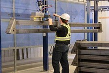 Gorbel G-Force®: Reducing Labor Costs and Providing Safe Solutions for Powder Coating Company