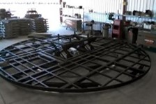 Scissors Lifts Integrate with Vehicle Turntable