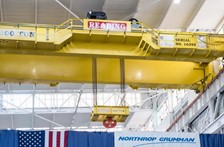 R&M 200-ton SXL Crane Maximizes Space in Heavy Manufacturing Facility