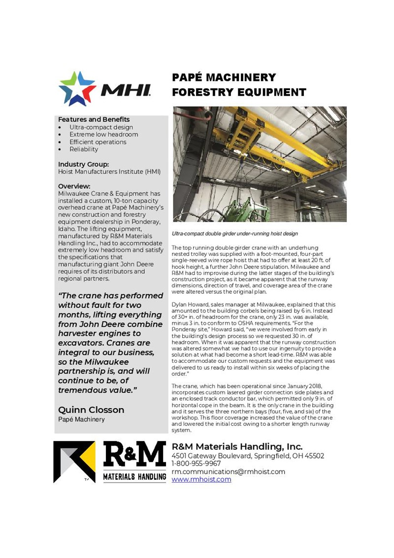 PAPÉ MACHINERY | FORESTRY EQUIPMENT