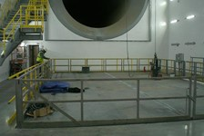 Quad Lift Platform For Jet Engine Test Cell
