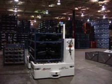 Automatic Guided Vehicles Move Finished Goods Safely and Efficiently