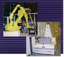 Laser Guided Vehicles Integrated with Robotic Packaging System for Total Solution