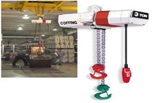 Coffing Hoists offers Electric Chain Hoists for Special Application