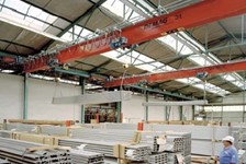 Demag DR Pro Hoists with Simultaneous and Independent Hoists are the Ideal Solution for Handling Long Materials