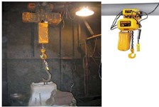 Heavy Duty Electric Chain Hoist Performs in Tough foundry Applications