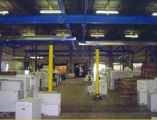 Gorbel Work Station Cranes Help Distribution Center Improve Productivity