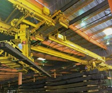 Steel Service Center Uses Stacker Crane To Improve Shipping Performance