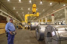 Atlas Steel Solves Crane Problem With Remote Control