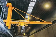 SPANCO Wall Traveling Jib Cranes Have Improved the Efficiency of Steel Production