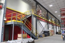 Wildeck Mezzanine Eases Growing Pains