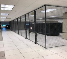 Securing Data Center  with Wire Mesh Partitions