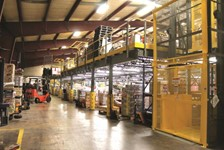 Wildeck's Pivot Safety Gates Help Move Palletized Loads