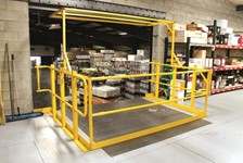 Wildeck's Pivot Safety Gates Keep Products Moving