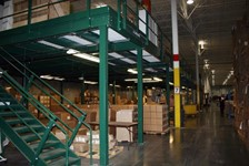 Wildeck Mezzanine Increases Operational Efficiency