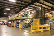 Wildeck Mezzanines Eliminate Renovation Need