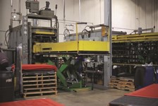 Kelley Lift Tables Play Vital Role in Commercial Floor Mat Manufacturing Process
