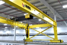 TH Plastics, Inc. | Custom Crane Solution