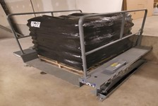 Serco Zero Lift Table Helps School District Maximize Storage Space for Salt Supplies