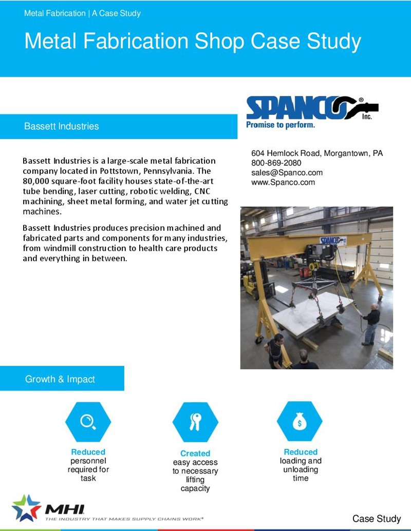 Metal Fabrication Shop Case Study
