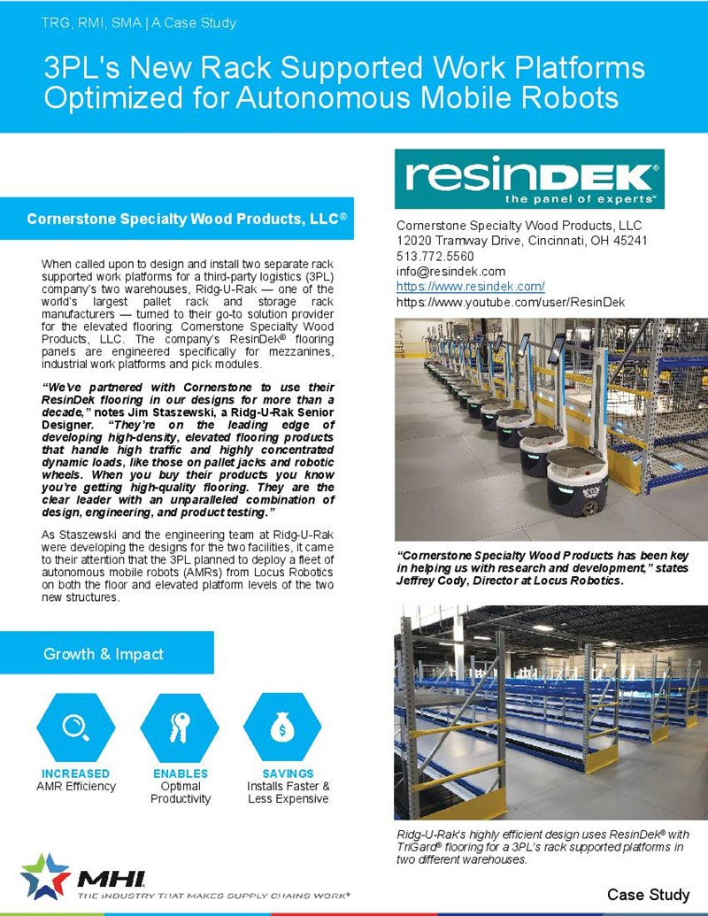 Case Study – ResinDek with TriGard Optimized for AMRS
