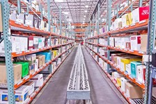 SpanTrack helps consolidate distribution facilities and increase throughput rates