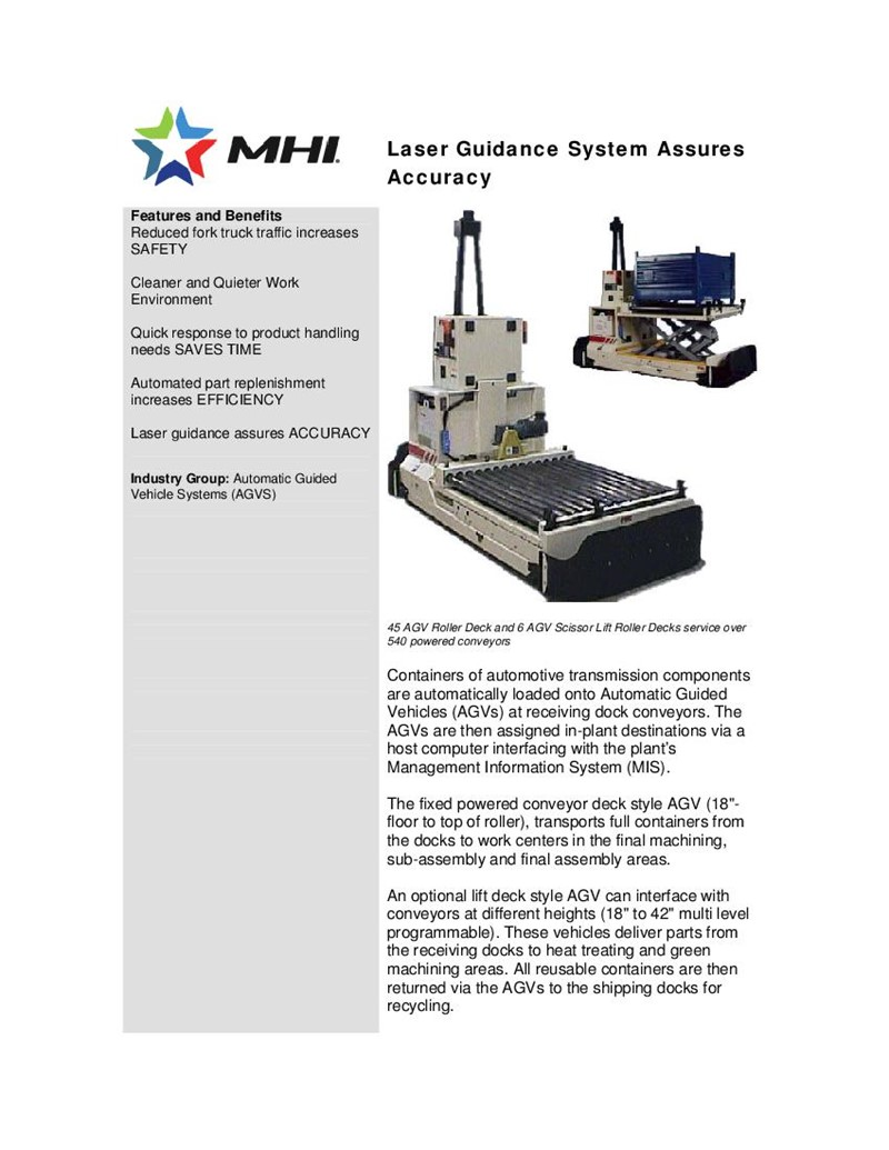 Laser Guidance System Assures Accuracy